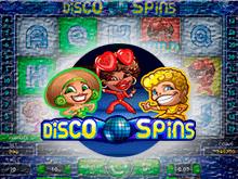 Играйте в онлайн автомат Disco Spins
