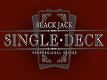 Single Deck Blackjack Professional Series на реальные деньги