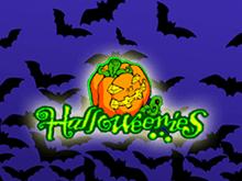 Автомат Halloweenies на реальные деньги играть онлайн