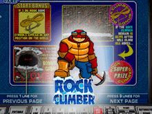 Rock Climber в казино Вулкан