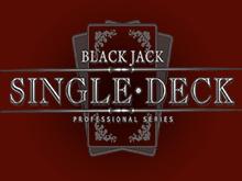 Single Deck Blackjack Professional Series на реальные деньги