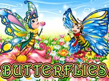 Butterflies от Microgaming - игровой аппарат с большими коэффициентами